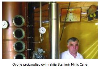Rakije Minic Srbija