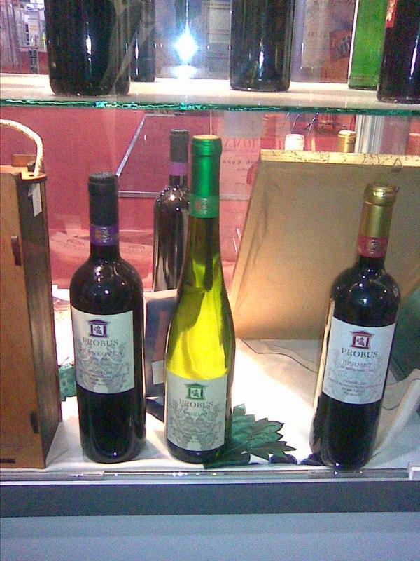 vinarija probus crna i bela vina